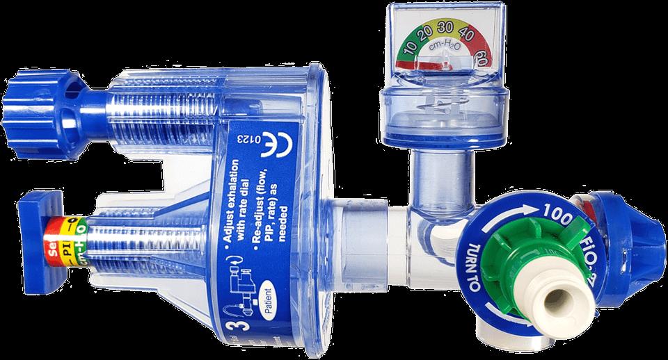 plicní ventilátor GO2VENT