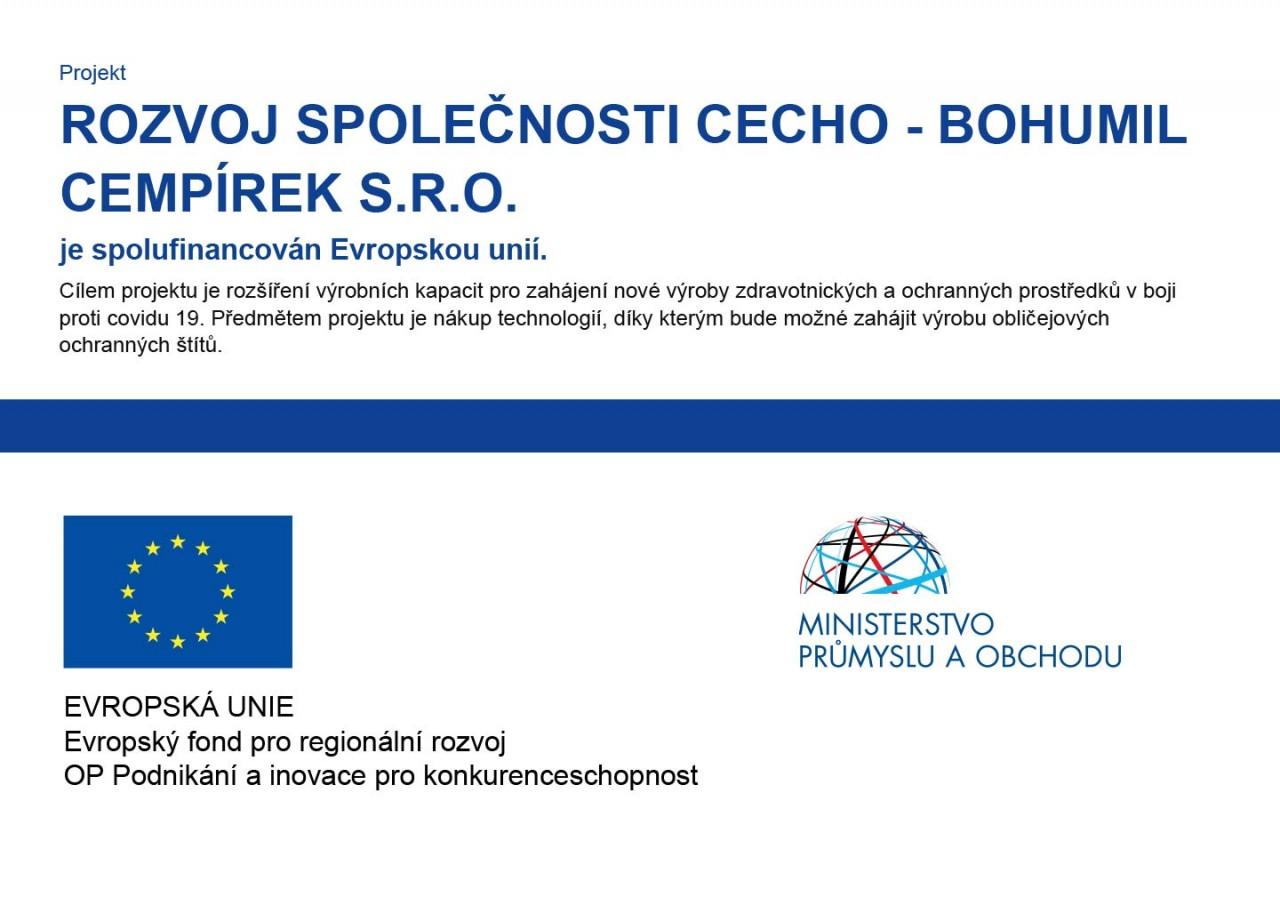 ROZVOJ SPOLEČNOSTI CECHO - BOHUMIL CEMPÍREK s.r.o.